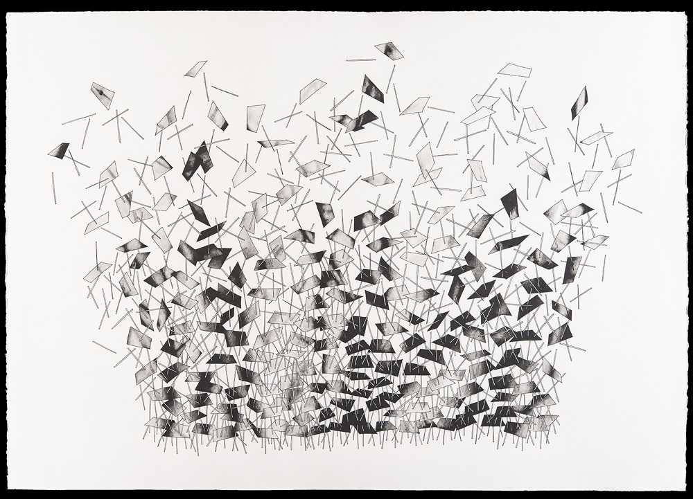 Cities the sky charliemichaels drawings pen and graphite paper 42 x 30 2015 2017 malvernweather Choice Image